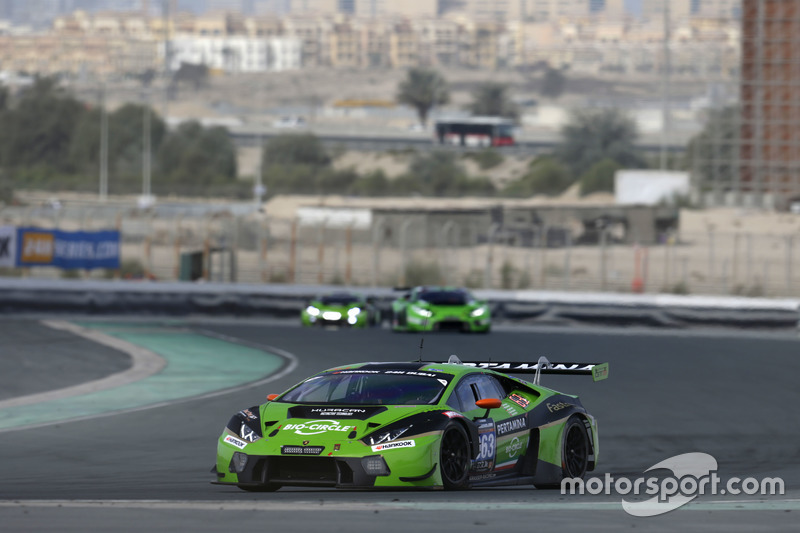 #963 GRT Grasser Racing Team Lamborghini Huracan GT3: Mirko Bortolotti, Christian Engelhart, Rik Bre