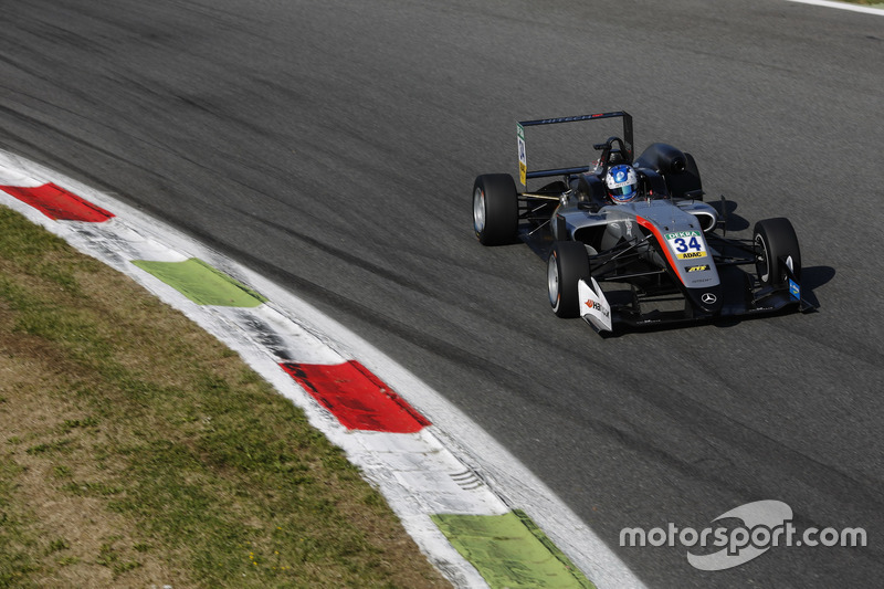 Jake Hughes, Hitech Grand Prix, Dallara F317 - Mercedes-Benz