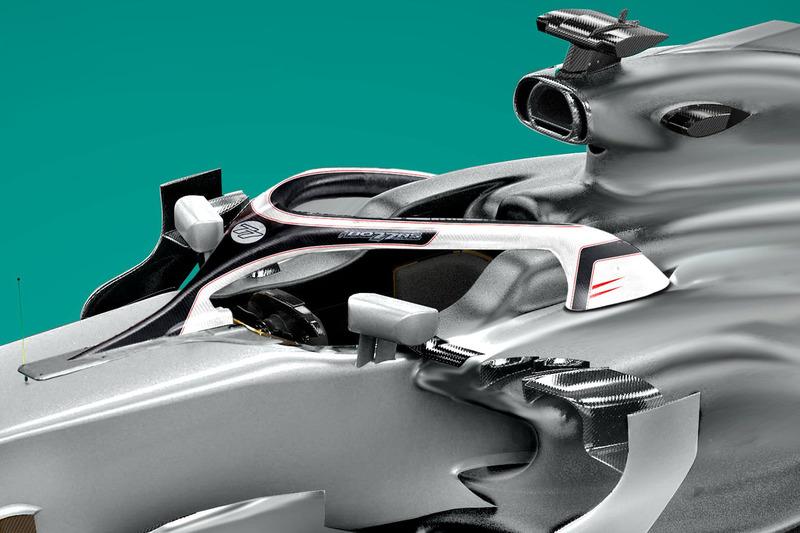 Valtteri Bottas, Mercedes AMG F1 Halo