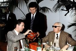 Enzo und Piero Ferrari, 1987