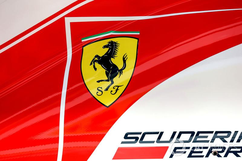 Капот Ferrari SF70-H