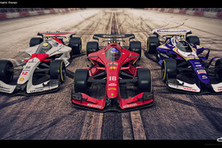 McLaren, Ferrari y Williams 2025
