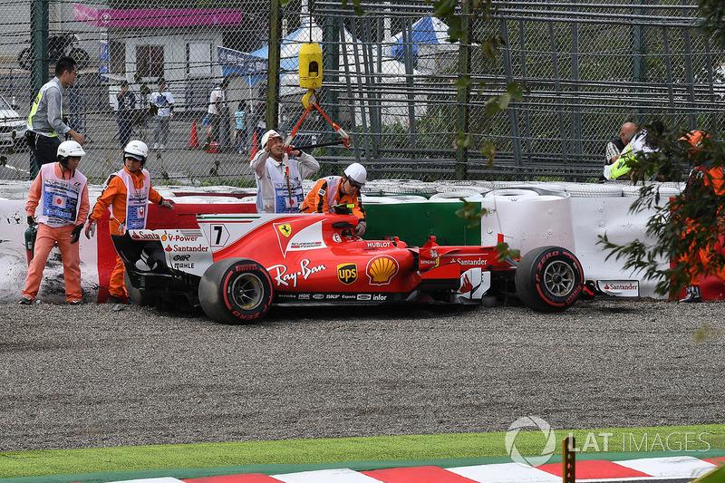 Kimi Raikkonen, Ferrari SF70H (4 abandonos)