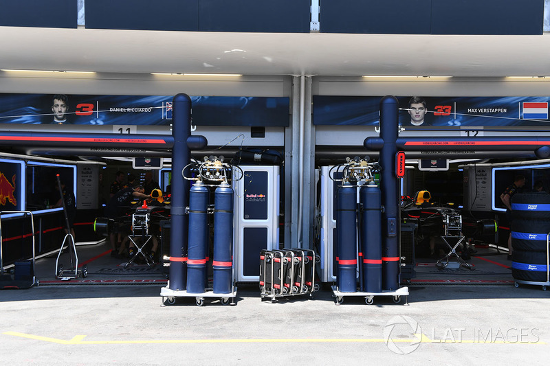 Garage, Red Bull Racing