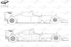 Ferrari F14 T side vew