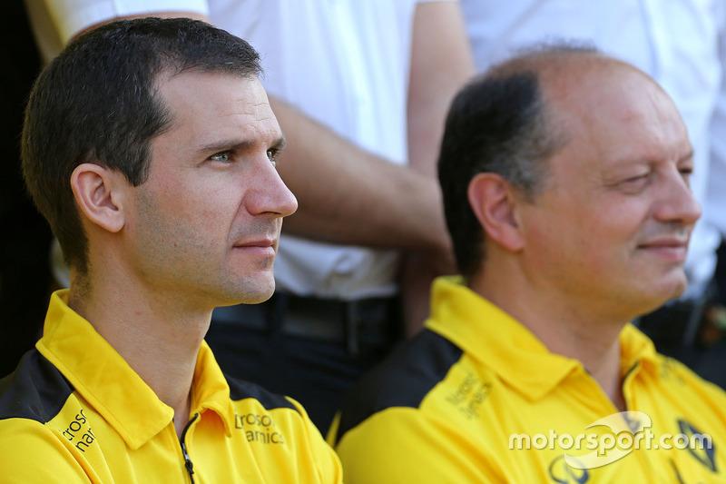 Remi Taffin, Renault Sport F1 Technischer Leiter Motoren