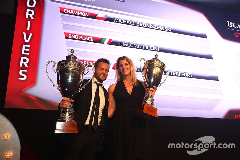 2016 Copa Pro-AM  pilotos, Giacomo Piccini, segundo lugar, Morgan Moullin Traffort, tercer lugar