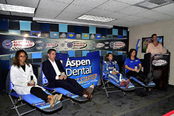 Dr. Vincent, Chad Seigler, Danica Patrick, Stewart-Haas Racing, Michelle Vaeth, and Jamie Little