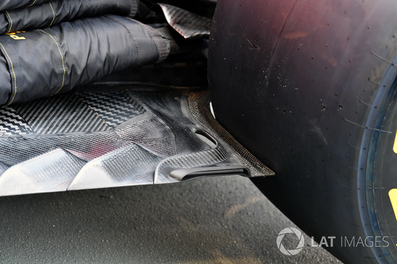 Ferrari SF70H, Unterboden, Detail