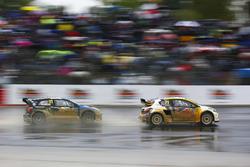 Kevin Hansen, Team Peugeot-Hansen Academy, Peugeot 208 WRX, Petter Solberg, PSRX Volkswagen Sweden, VW Polo GTi