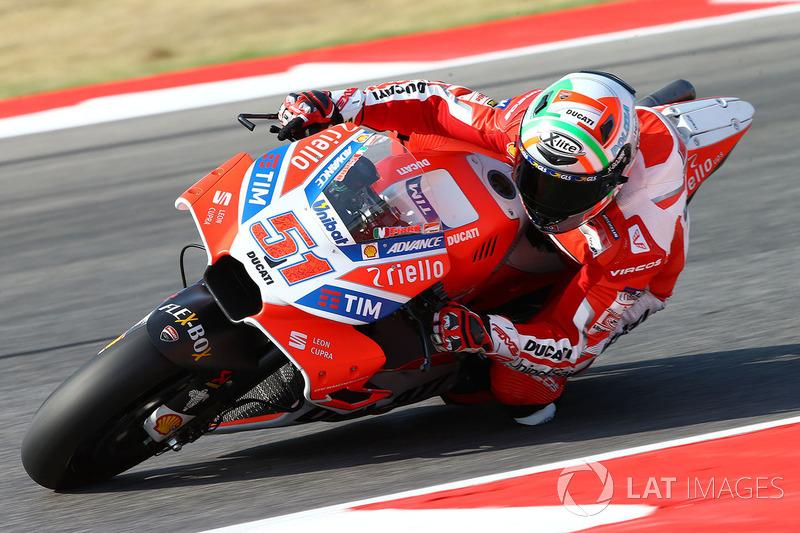 22. Мікеле Пірро, Ducati Team - 18 очок