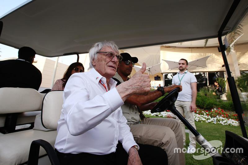 Гран Прі Бахрейну. Почесний керівник Формули 1 Берні Екклстоун