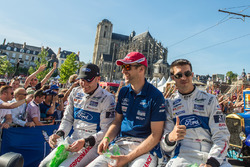 Olivier Pla, Stefan Mücke, Billy Johnson, Ford Chip Ganassi Racing