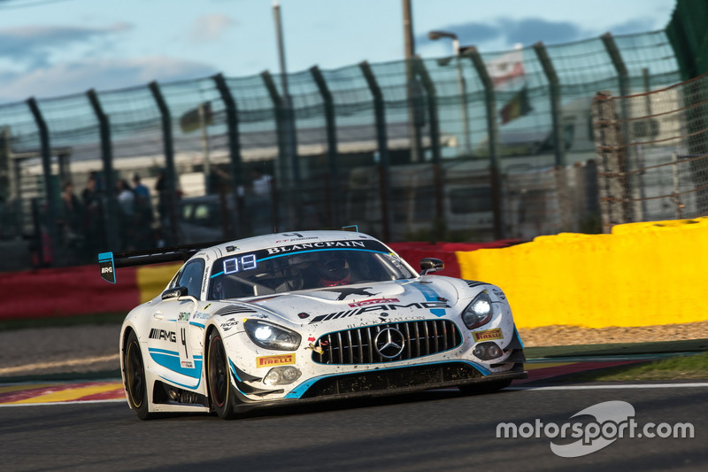 #4 Black Falcon Mercedes-AMG GT3: Адам Хрістодулу, Єлмер Бурман, Лука Штольц