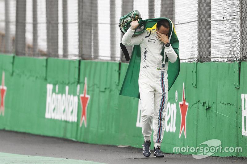 Un accident pour Massa, c'est rare !