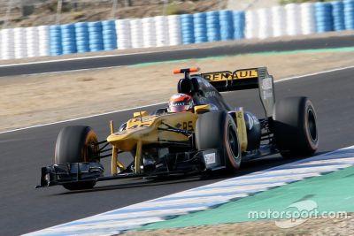 Essais de septembre à Jerez