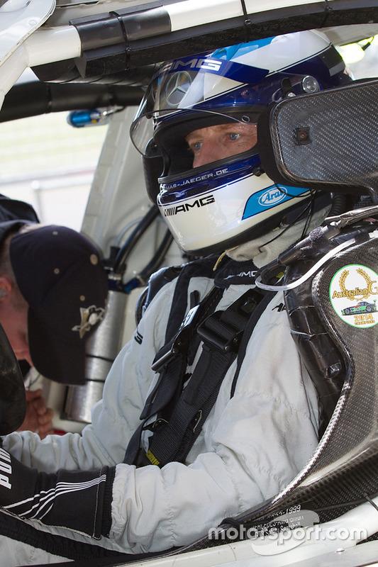 #36 Erebus Motorsport Mercedes SLS AMG GT3: Thomas Jäger