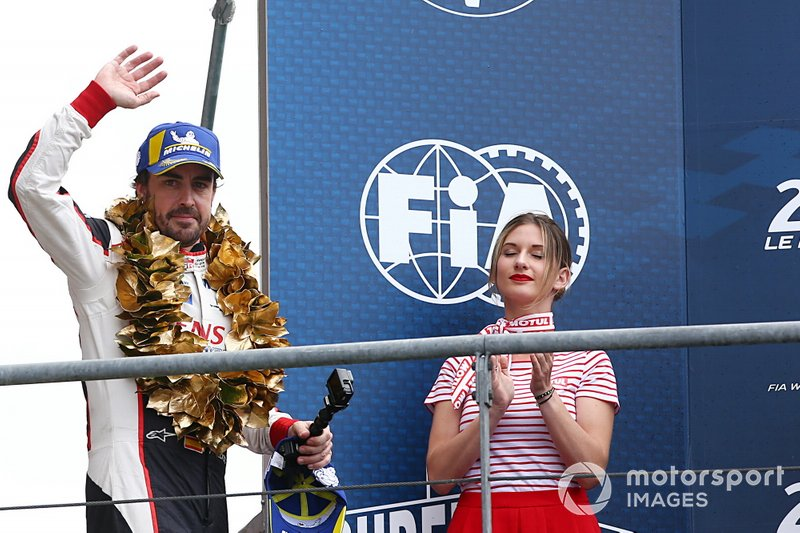 #8 Toyota Gazoo Racing Toyota TS050: Fernando Alonso wins the Le Mans 24 Hours and the FIA World Endurance Championship Super Season 2018 / 2019