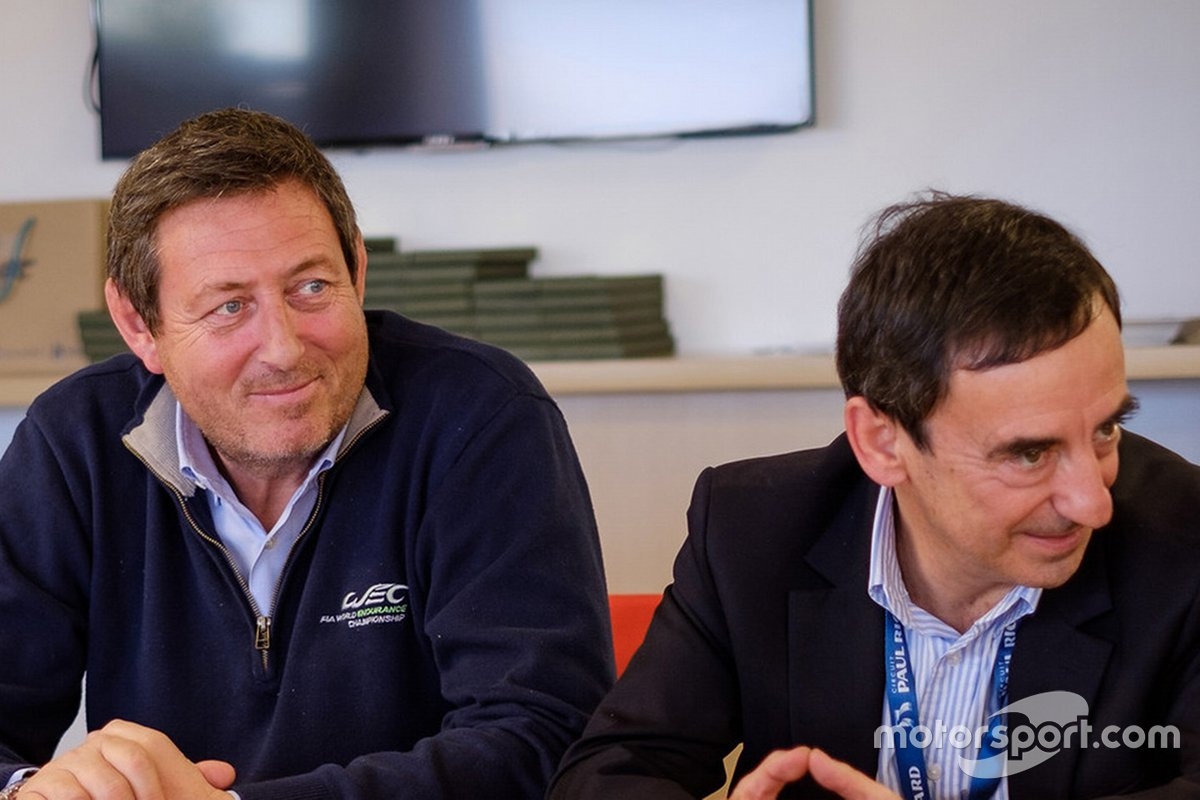 Gerard Neveu, CEO WEC, Pierre Fillon, ACO president
