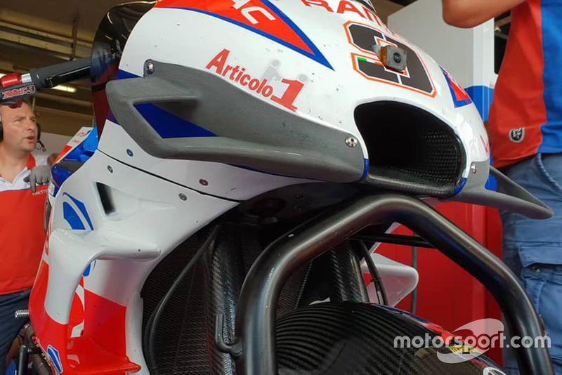 Danilo Petrucci, Pramac Racing fairing detail