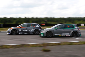 Robert Dahlgren, PWR Racing, Cupra TCR, e Fredrik Ekblom, Volkswagen Golf GTI TCR