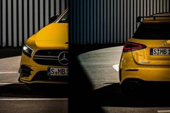 2019 Mercedes-AMG A35 teaser