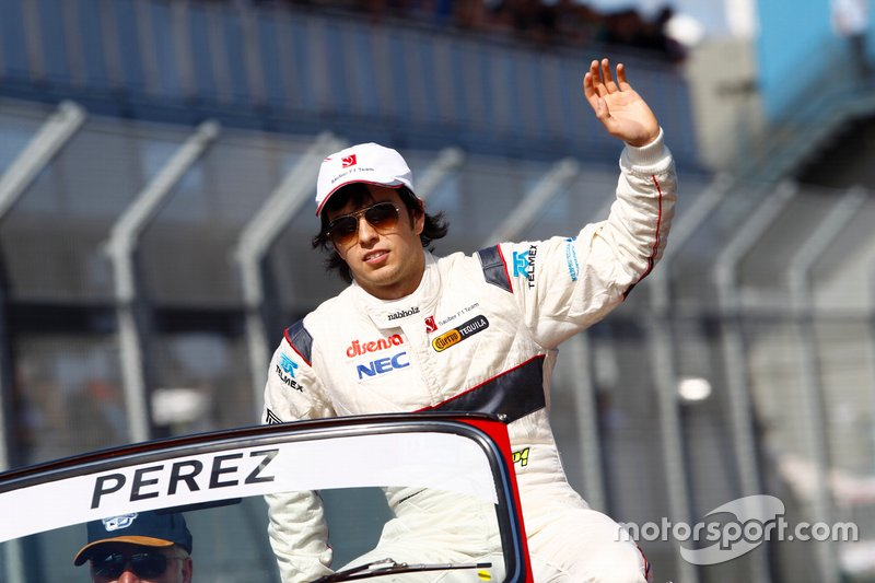 #12 Sergio Pérez, Sauber