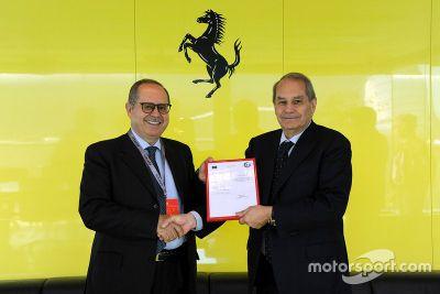 Ferrari AEO sertifika açıklaması