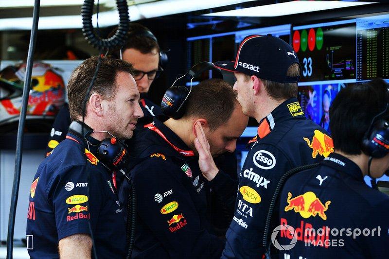 Керівник Red Bull Racing Крістіан Хорнер, Макс Ферстаппен, Red Bull Racing