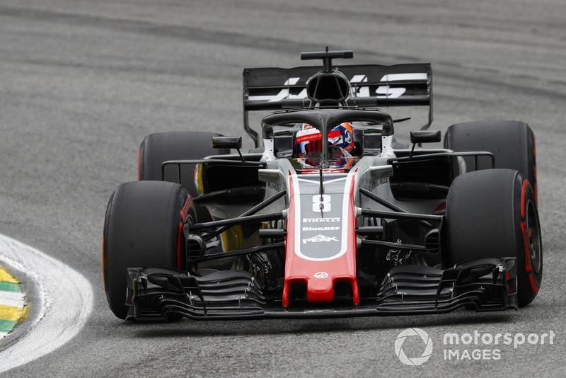 Ромен Грожана, Haas F1 Team VF-18
