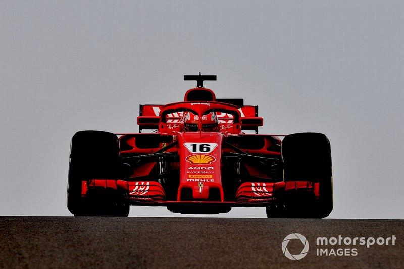 5. Hoe doet Leclerc het bij Ferrari?