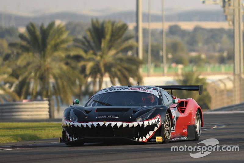 #33 Kessel Racing Ferrari 488 GT3: Fons Scheltema, Rick Lovat, Murat Cuhadaroglu, Niki Cadei