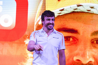 Fernando Alonso, McLaren says goodbye to the fans