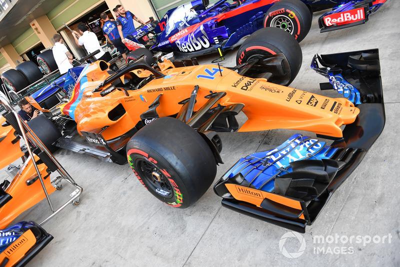 Livrée spéciale pour Fernando Alonso, McLaren MCL33