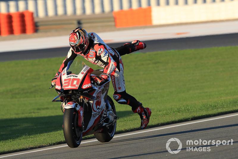Takaaki Nakagami, Team LCR Honda (15 kecelakaan)