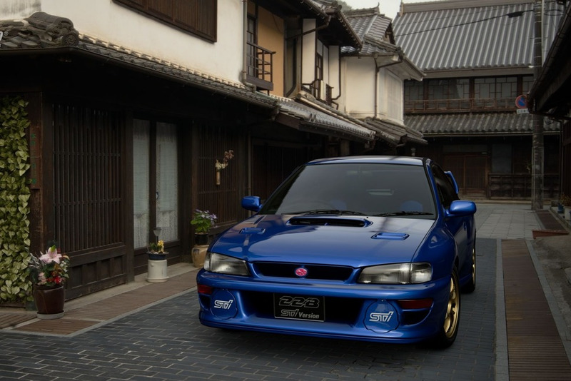 Subaru Impreza 22B-STi Version '98 (N300)