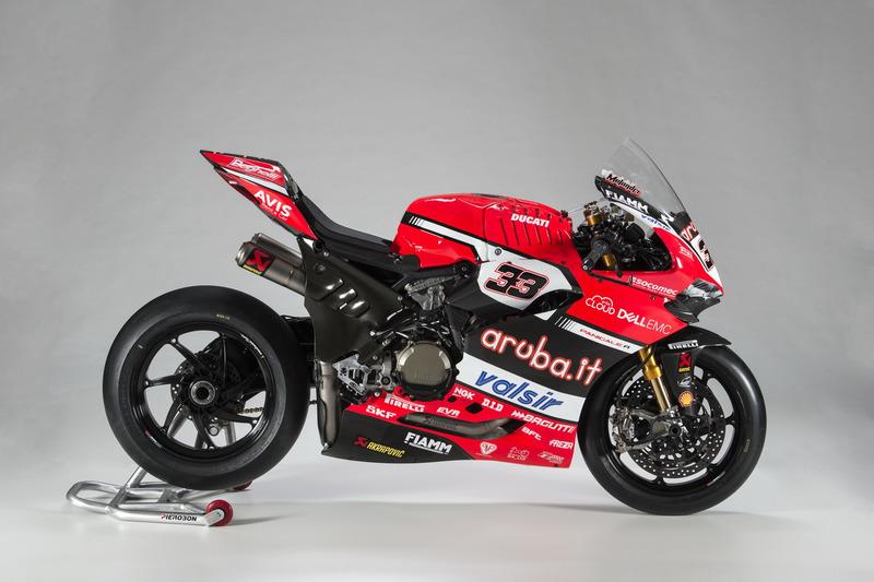 La moto de Marco Melandri