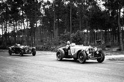 Tazio Nuvolari, Raymond Sommer, Alfa Romeo 8C