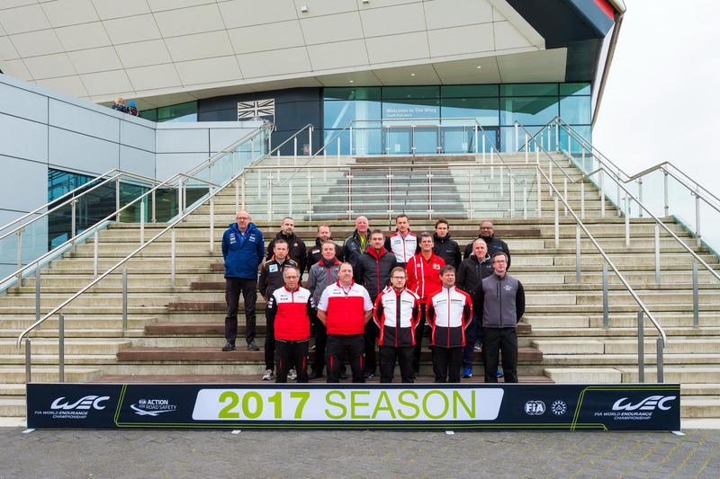 Gruppenfoto: Die Teamchefs der WEC-Saison 2017