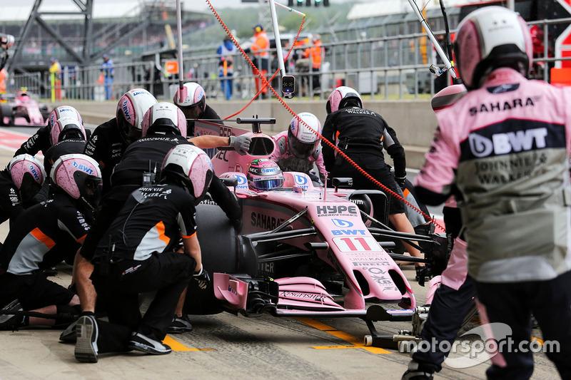 Серхіо Перес, Force India VJM10