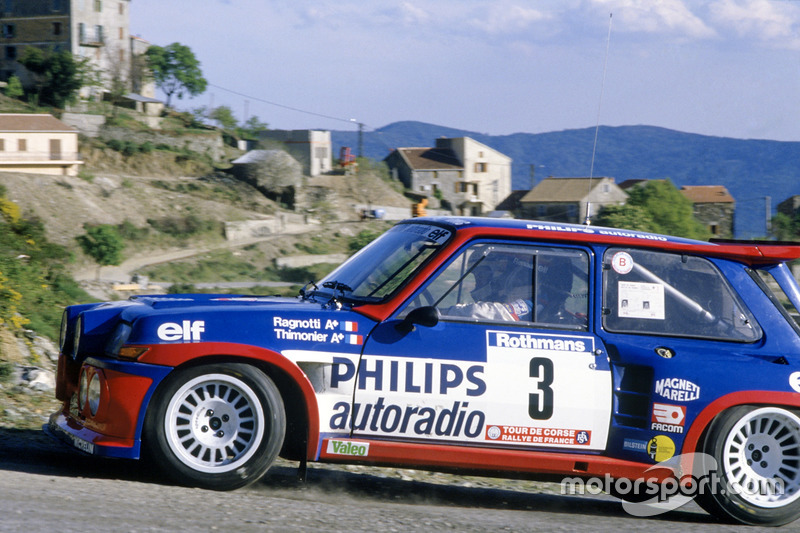 Jean Ragnotti, Pierre Thimonier, Renault 5 Maxi Turbo