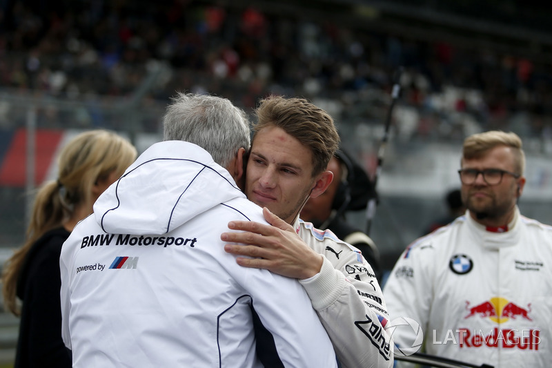 Jens Marquardt, directeur de BMW Motorsport et Marco Wittmann, BMW Team RMG, BMW M4 DTM