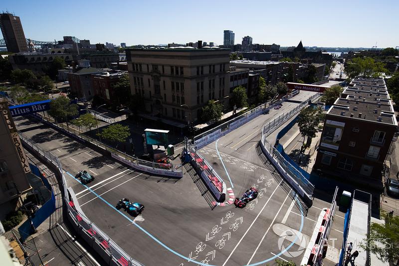 Mitch Evans, Jaguar Racing, Oliver Turvey, NEXTEV TCR Formula E Team y Maro Engel, Venturi
