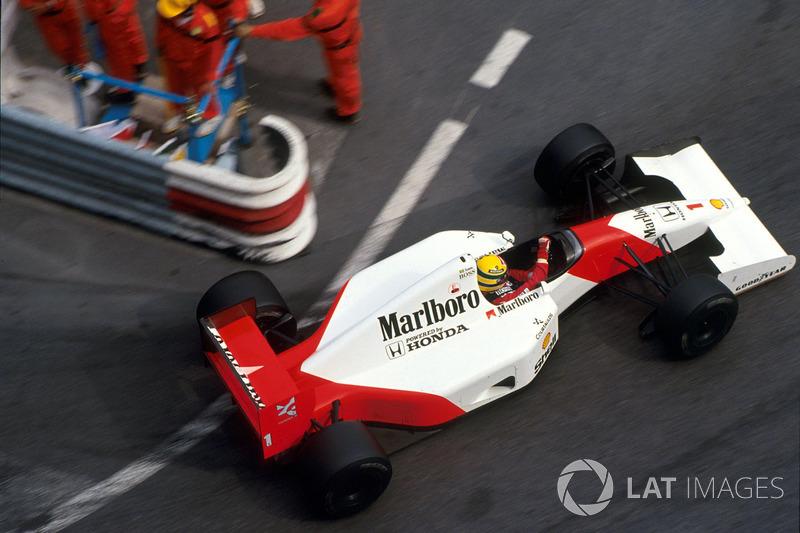 1992 год – пятая победа Сенны в Монако