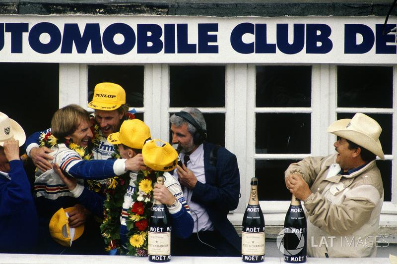 1987: Derek Bell, Hans-Joachim Stuck, Al Holbert