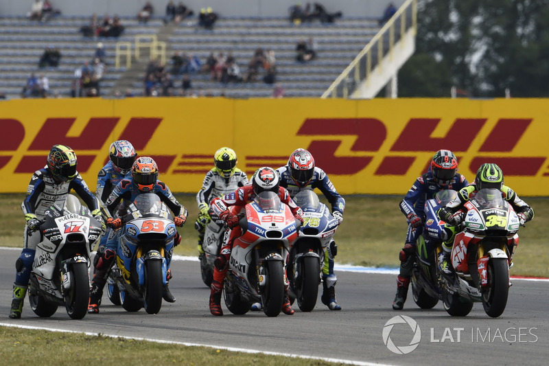Startübung: Jorge Lorenzo, Ducati Team