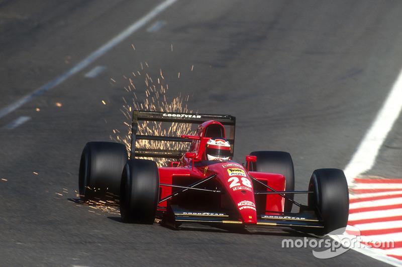 F1, Spa 1991: Jean Alesi. Ferrari 643
