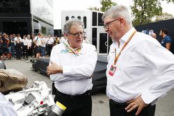 Didier Perrin und Ross Brawn