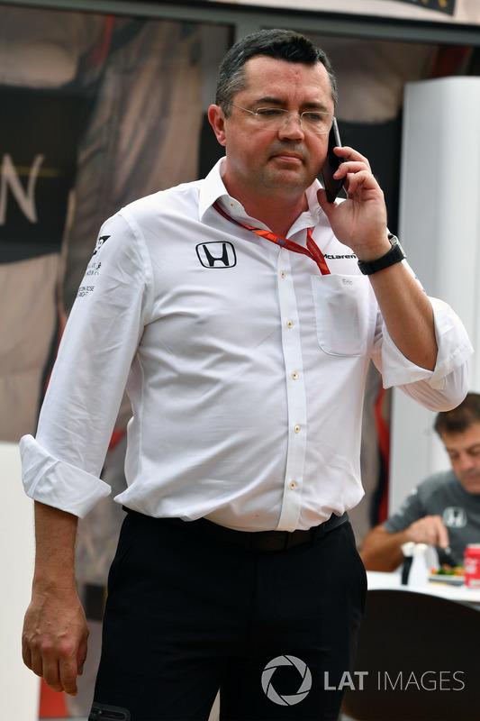 Eric Boullier, McLaren-Rennleiter