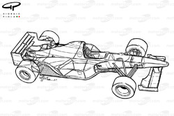 Williams FW17B 1995 overview